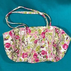 Vera Bradley Travel Bag Covered w Poppies & Posies